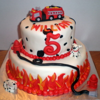 Fire Department   Based on cakes seen on Cake Central - Thank you!