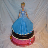 Another Cinderella Cake   This one's all butter cream.