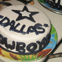 Cowboys Made this using left over fondant, just playing around.