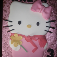 Hello Kitty Strawberry, filling, frosting and cake