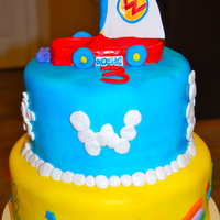 Wonder Pets Boat Boat is made of fondant