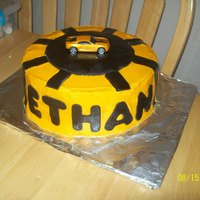 Transformer Cake Bumble Bee Made for twins