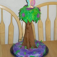 Tinkerbell Tree This was for my daughters bday. I didnt really know what I was doing. I wish I would have know how to do a tree then. That a way I could...