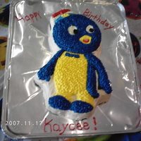 Pablo From Backyardigans this was for my daughters 1st birthday.