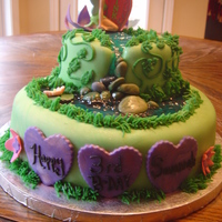 Tinkerbell Cake This cake is for my dd's B-day! I wish I could say I had a blast with this cake but it stressed me out! I wanted it to be perfect and...