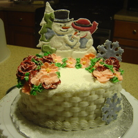 Merry Christmas! Wilton's 2nd course cake.