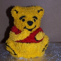 Winnie The Pooh This was for a first birthday. This little guy was the birthday girl's cake so she could smash it up if she wanted.