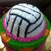 Volleyball Cake 3D