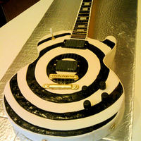 Zakk Wylde Guitar Cake ( Life Size) Zakk Wylde custom bullseye Gibson Les Paul guitar cake ,(life size / scale size )almost 100% edible , (the strings are not edible.. and...