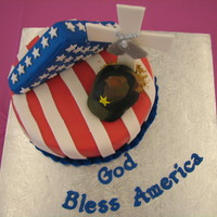 Memorial Day Cake This cake was for a cake challenge that my Wilton instructor asked a few former students to participate in so that she could promote her...