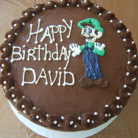 Kids Birthday   Mario Brothers Cake