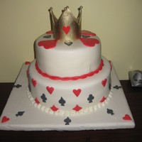 My Niece's Birthday chocolate and red velvet cake with cream cheese filling. all decorations are edible.