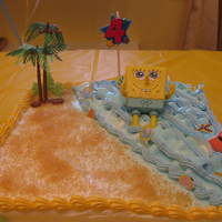 My Son's 4Th Birthday Dominican cake with pinapple filling.