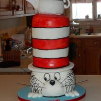 The Cat In The Hat The Cat in the Hat made for my nephews 3rd birthday. All cake with the exception of the teapot which is RKT's. Hand painted. Many...