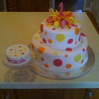 Polka Dot And Ribbon