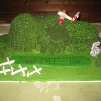 Humidity Is The Devil... So here is my dad's 50th birthday cake. Let me lay out the plan and then what it turned into. The plan was vermont green mountain...