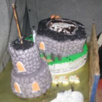 Really Haunted Cake!