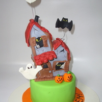 Haunted House Fondant and gum paste