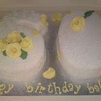 60Th Yellow Roses