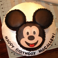 Mickey Mouse Inspired by all the wonderful Mickey cakes on CC.com. thanks everyone!