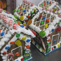 "Mini ""australian Style"" Gingerbread Houses These mini gingerbread houses are made from a gingerbread cookie Mum and I came up with many years ago. Without spices or ginger it is..."