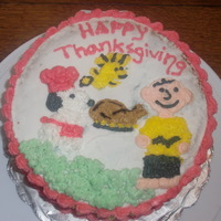 Charlie Brown Cake