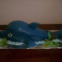 The Happy Dolphin This cake was made for a dolphin fan child.