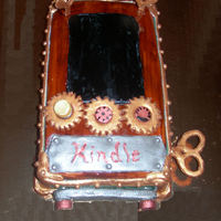 Steampunk Kindle Reader