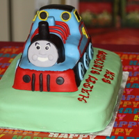 Thomas The Tank Engine This was my first attempt at Thomas and boy was he a challenge. I took this picture while I was working on the cake and forgot to take...