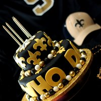 "Saints ""who Dat?!"" Cake"