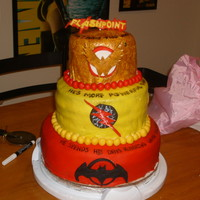 Free Comic Book Day! This is a cake I made for my favorite local comic book store in honor of Free Comic Book Day. It also celebrates the kick-off of a new...