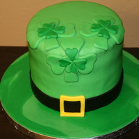 St. Patrick's Day Cake   made this for my Husband's St Patrick's day celebration at work