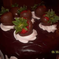 Chocolate Covered Strawberry Cake This is a chocolate and strawberry cake! I used the Summer Scratch Srtawberry cake recipe from this site and it is FABULOUS! This cake is...