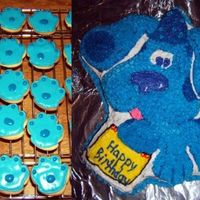 To Play Blue's Clues You've Got To Find A..... paw print! These are for my daughter's fourth birthday party at preschool. I'm planning to serve the cake after lunch and give...