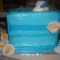 Diper Bag Cake blue version of pink one