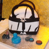 Purse   birthday cake for a friend