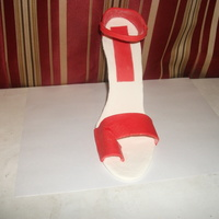High Heel My first high heel . had a hard time with heel part any advice is a appreciated...