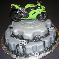 Gear Cake My first grooms cake!