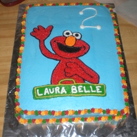 Elmo Birthday   Thanks SO much to others on this site for providing the inspiration for this cake. My niece loved it!