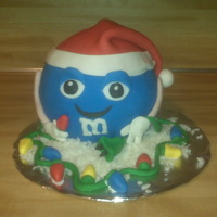Christmas M&m This cake was a just-for-fun project. It was inspired by the thousands of lights my husband has put up at our house this year. Merry...