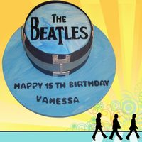 Beatles Cake Beatles Cake made for a 15th Birthday. Thanks for looking.