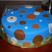 Boy Baby Shower Cake A cake I made for a friend, based on the design she wanted.