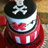 Pirate Birthday Cake Pirate Birthday Cake