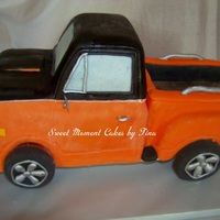1968 Chevy Truck This is my first carved 3D cake. I have never been this nervous working on a cake, but I was really pretty happy with the way it turned out...