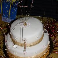 Amber's 21St Birthday Cake I made this cake for my niece for her 21st birthday. I also made the cake jewelry (it was my first time designing the topper). The butter...