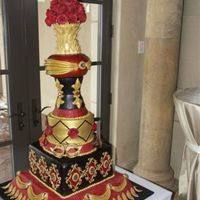 50Th Birthday Masquerade Ball This was made for a 50th birthday/formal masquerade ball. I saw a cake Christopher Garren (MY HERO) made designed to reflect the style of a...