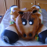 Horse Cake Thank you CC's, I used many cakes as inspiration for this horse cake. It was lots of fun to make!