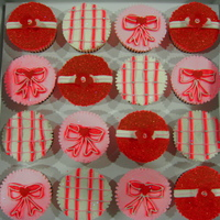 Red, Pink And White Cuppies