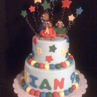 Alvin And Chipmunks Birthday Cake