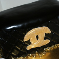 Chanel Handbag rush job... wish I took some time on creating the c's and I think it would of been perfect